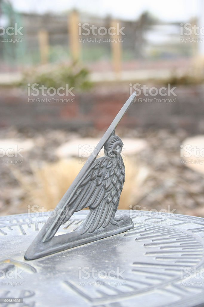 Antique Sundial royalty-free stock photo