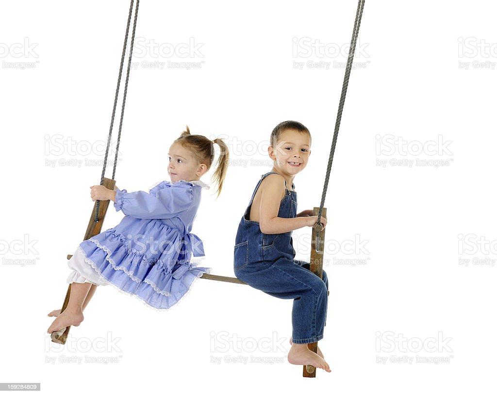 Antique Swinging royalty-free stock photo
