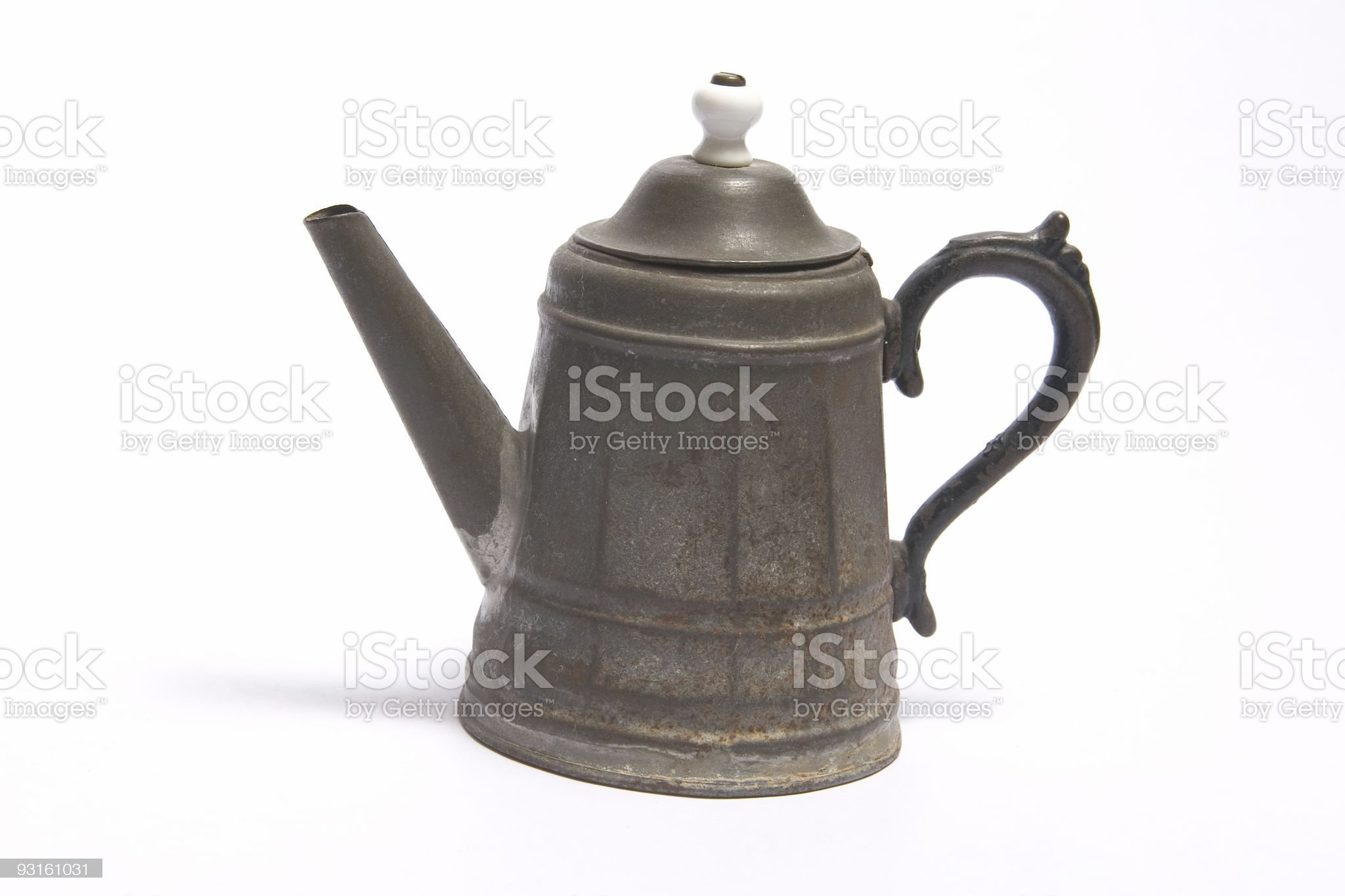 Antique Tea Kettle royalty-free stock photo