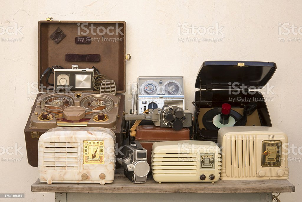 Antique Technology royalty-free stock photo