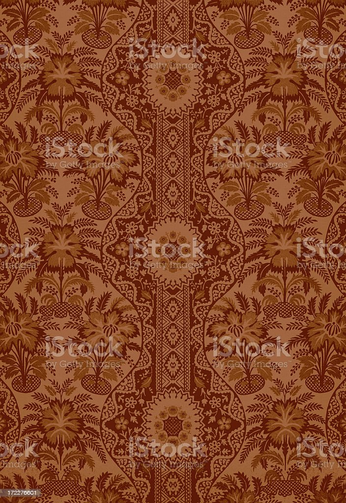 Antique Textile stock photo