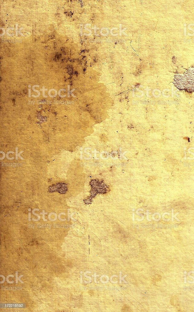 Antique Paper with tears and stains stock photo