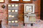 Antique Time Clock