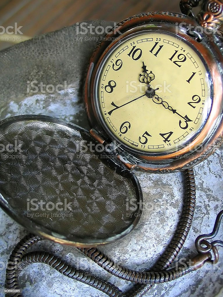 antique timepiece royalty-free stock photo