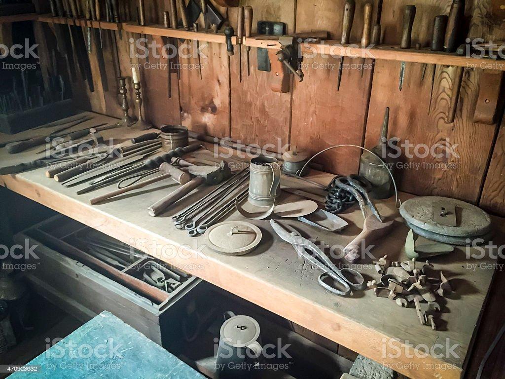 Antique Tools stock photo