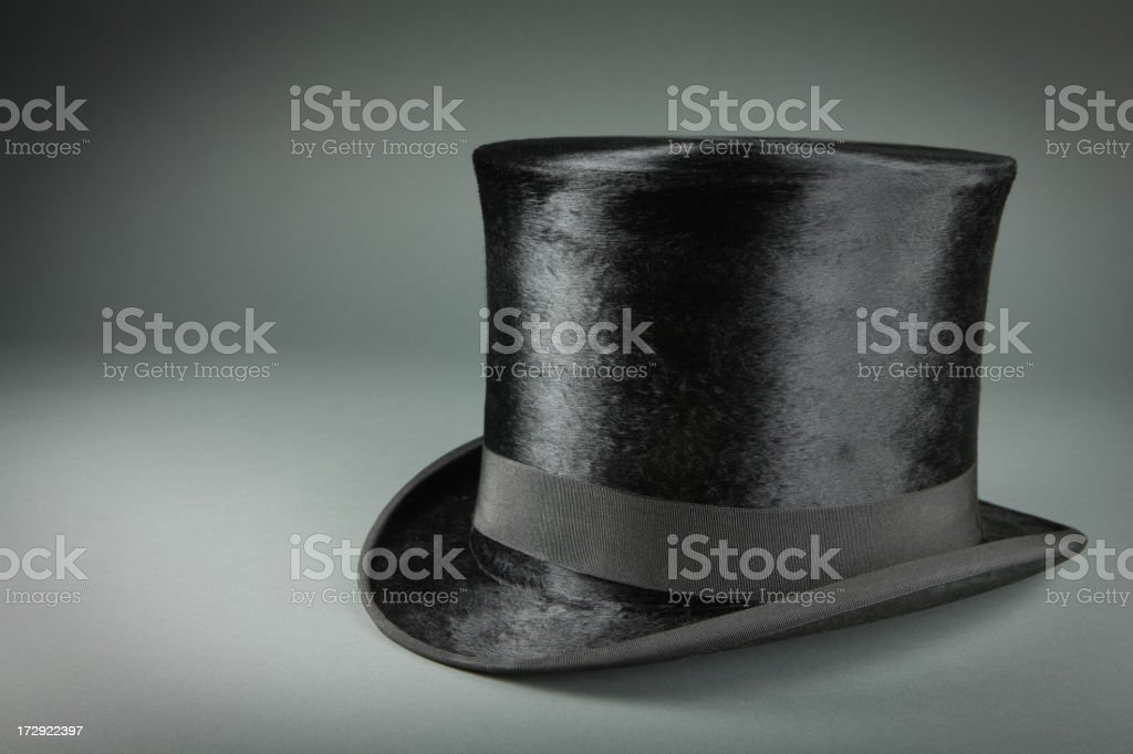 Antique Top Hat stock photo