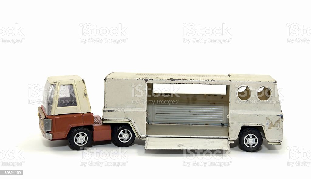 Antique Toy Truck royalty-free stock photo