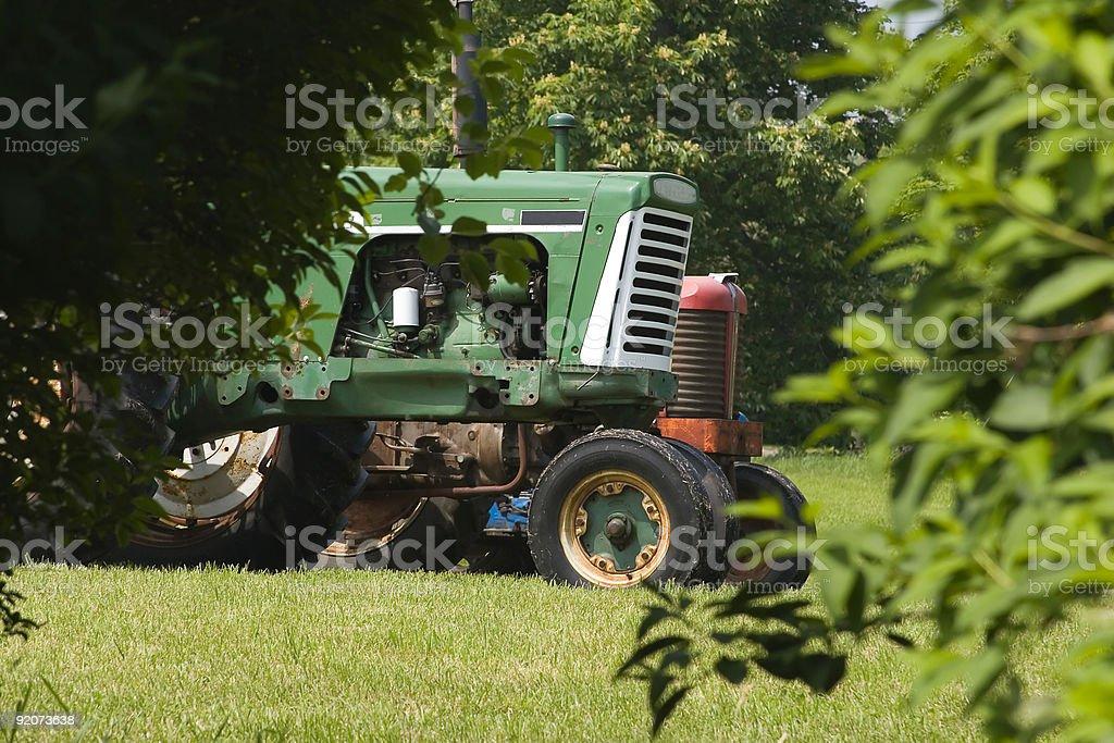 Antique Tractors royalty-free stock photo