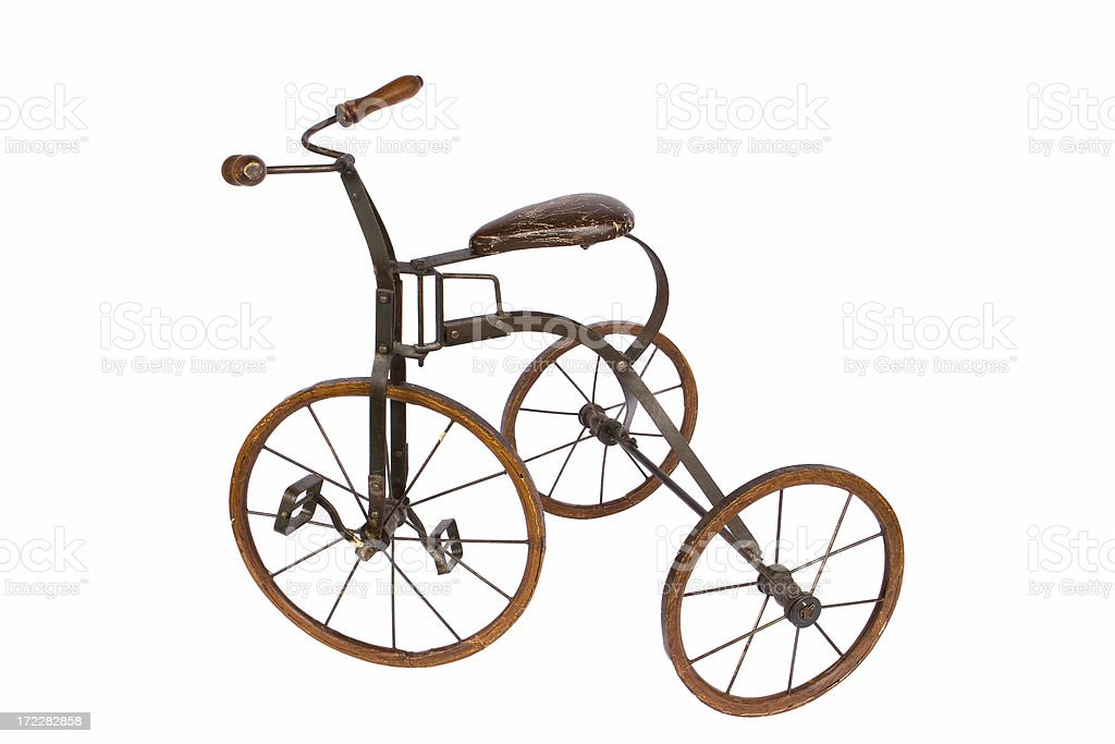 Antique Tricycle royalty-free stock photo