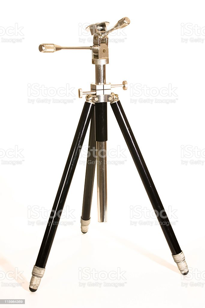 Antique Tripod stock photo