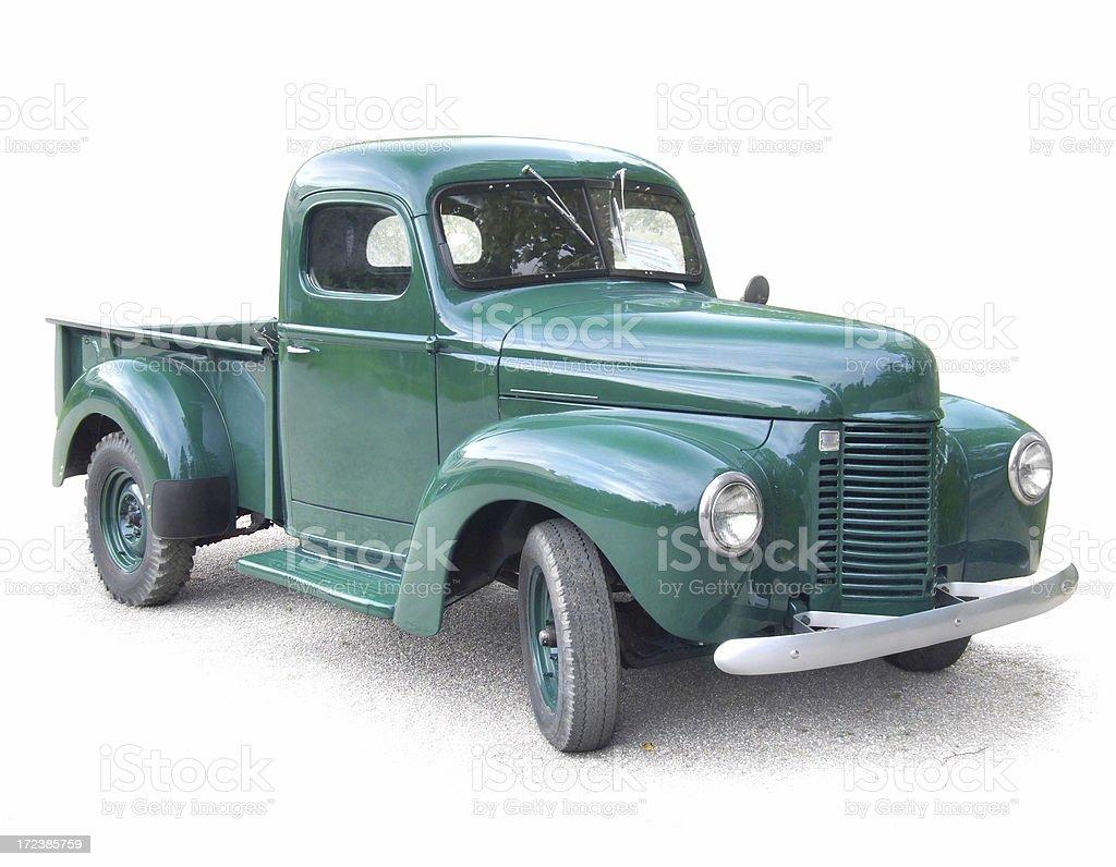 Antique Truck stock photo