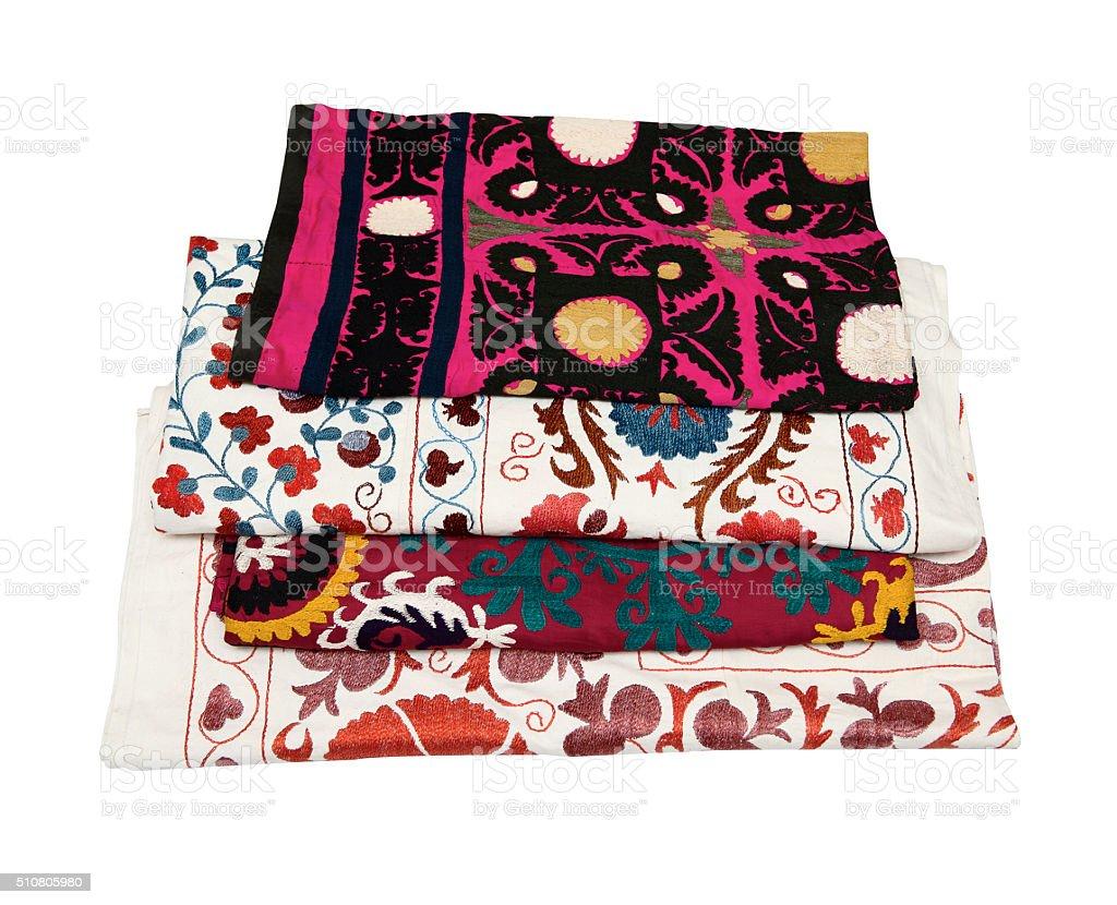 Antique Turkish Oriental Carpets stock photo