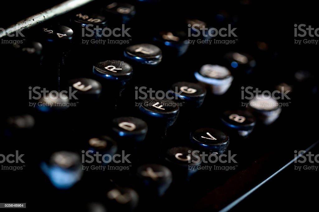 アンティーク Typewrite キーボード ロイヤリティフリーストックフォト