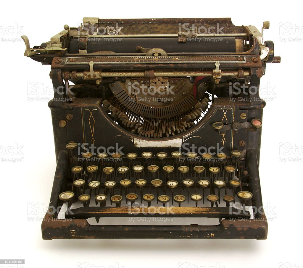 Antique Typewriter royalty-free stock photo