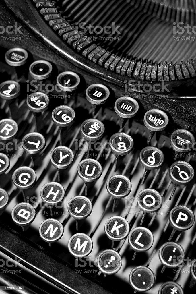 Antique Typewriter royalty-free stock photo