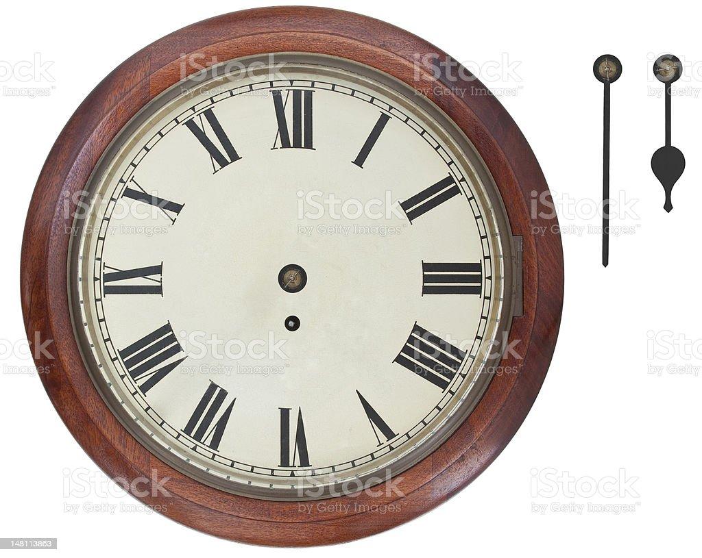 Antique Wall Clock royalty-free stock photo