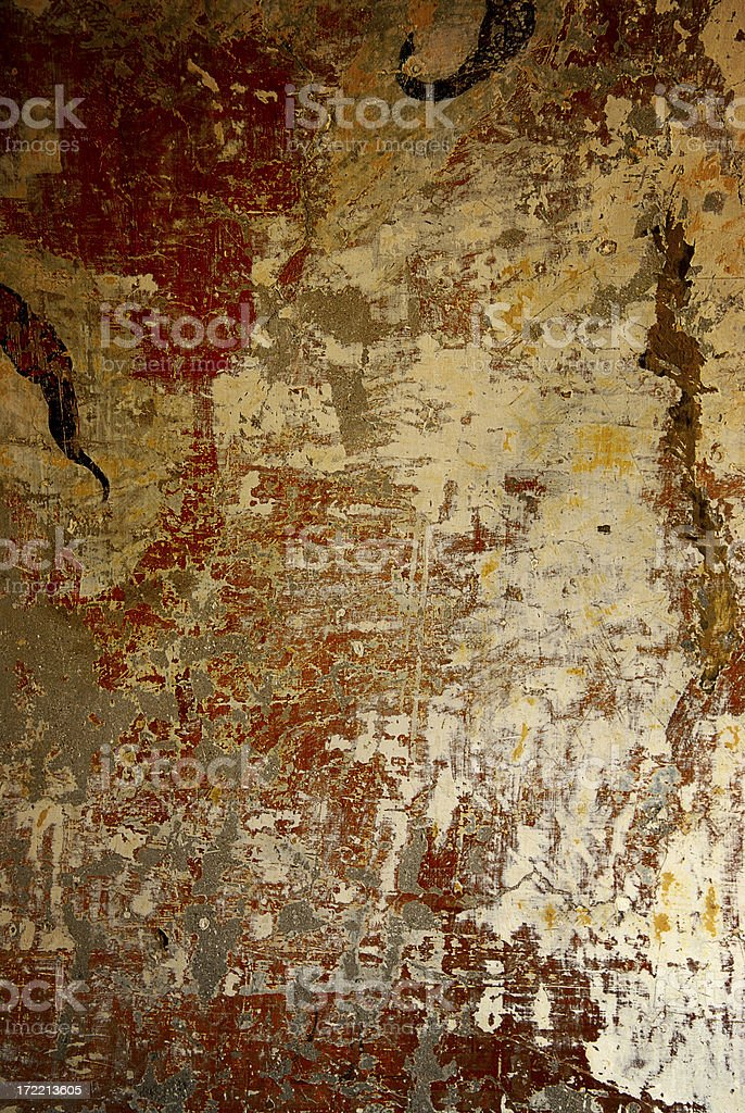 antique wall - rome stock photo