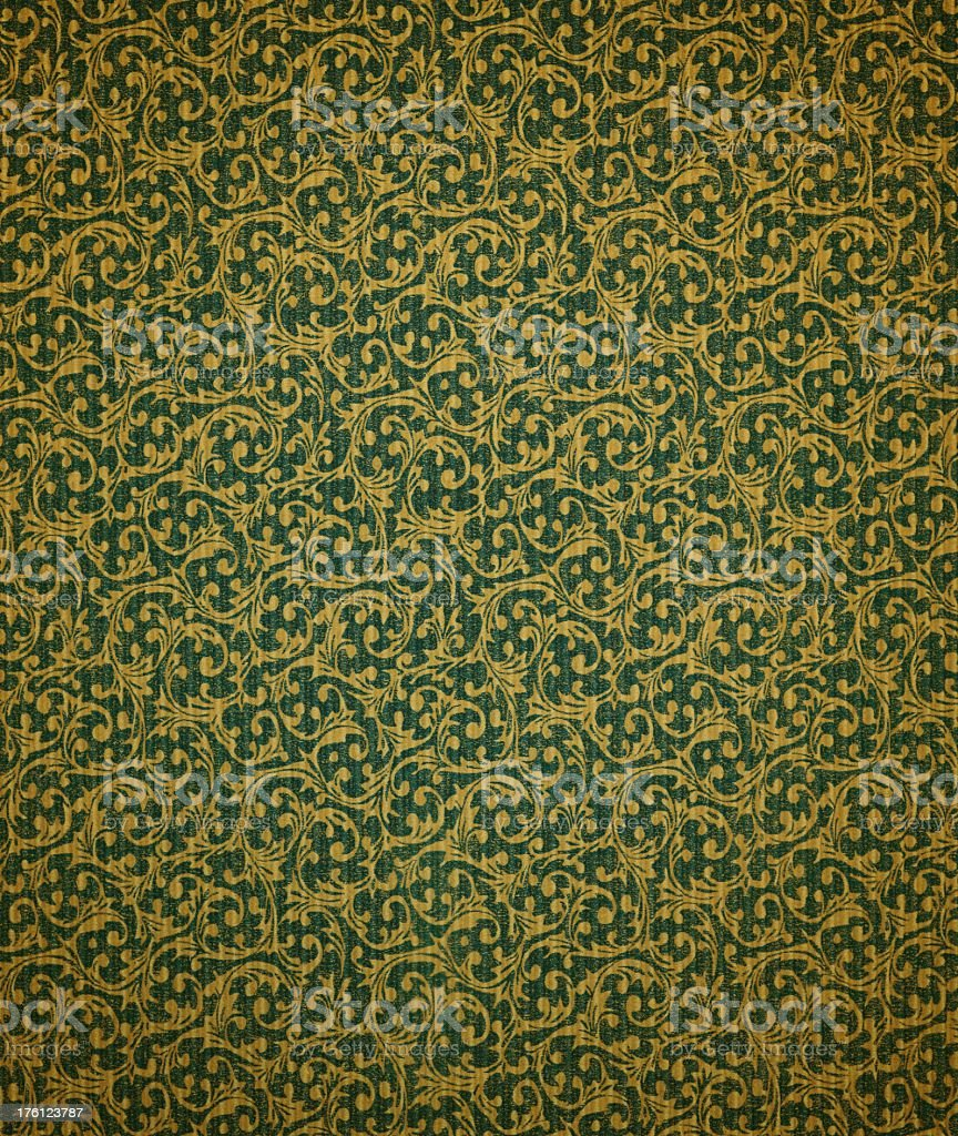Antique Wallpaper Background royalty-free stock photo