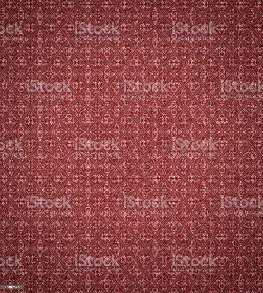antique wallpaper pattern stock photo