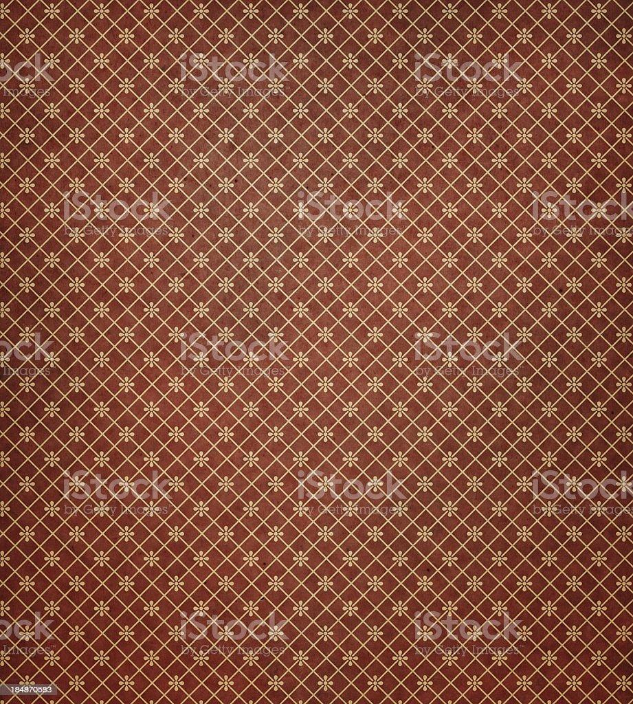 antique wallpaper pattern royalty-free stock photo