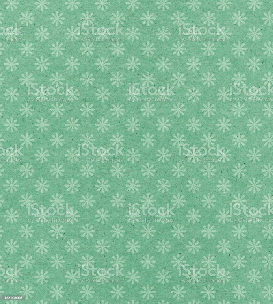 antique wallpaper with flower pattern royalty-free stock photo