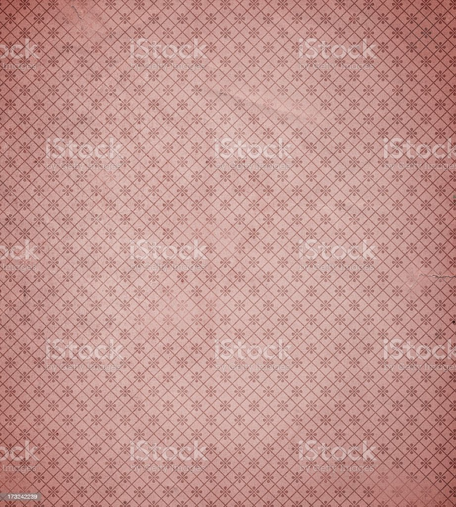 High resolution antique wallpaper with pattern stock photo