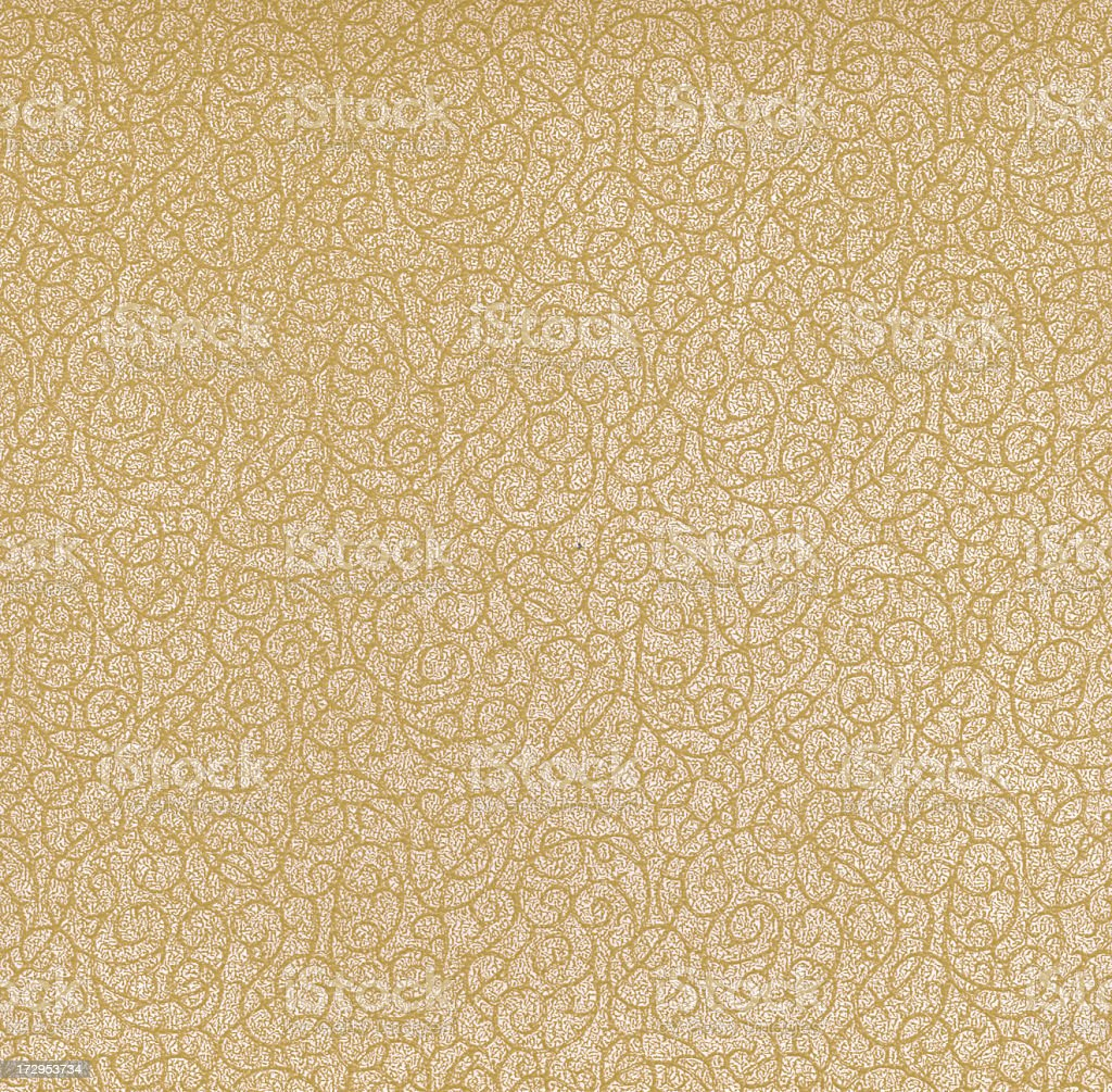 Antique wallpaper XXL stock photo