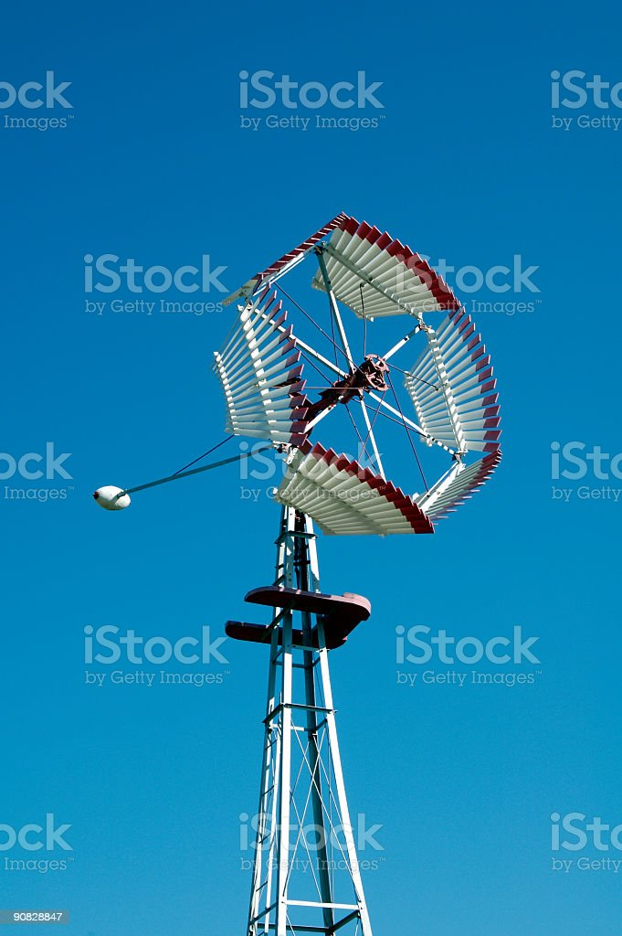 Antique Windmill 1 stock photo