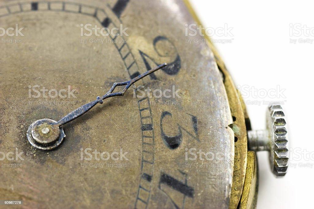Antique wristwatch royalty-free stock photo
