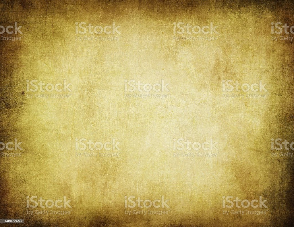 Antiqued piece of tapestry or background stock photo