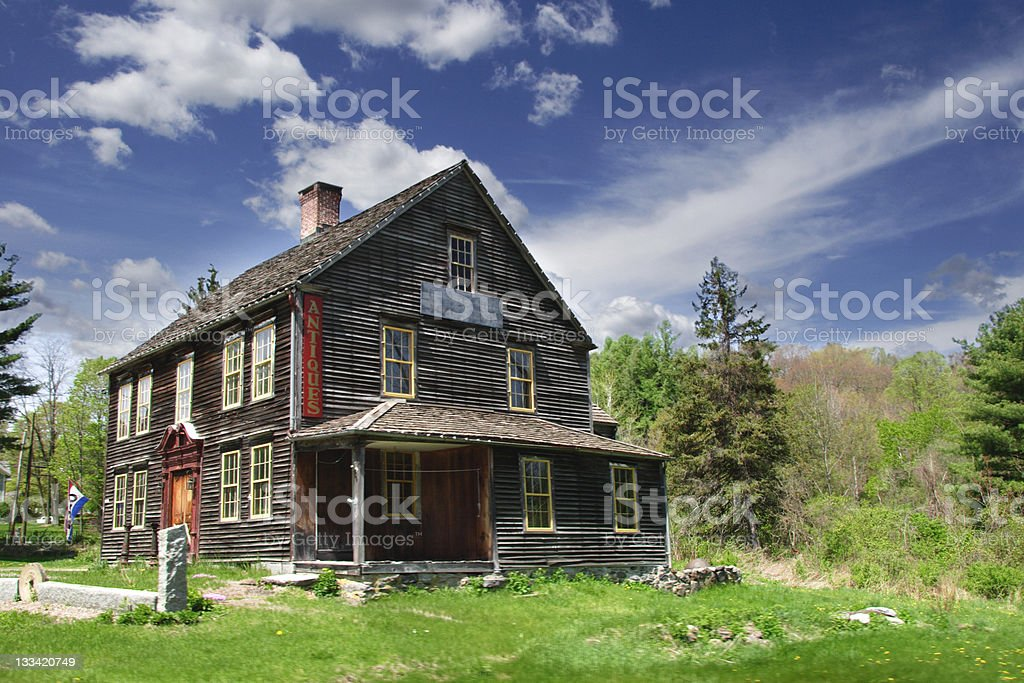 Antiques Home stock photo