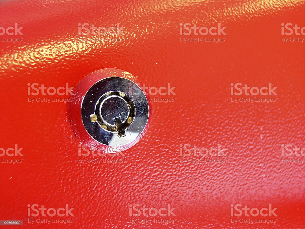 Anti-tamper Lock royalty-free stock photo