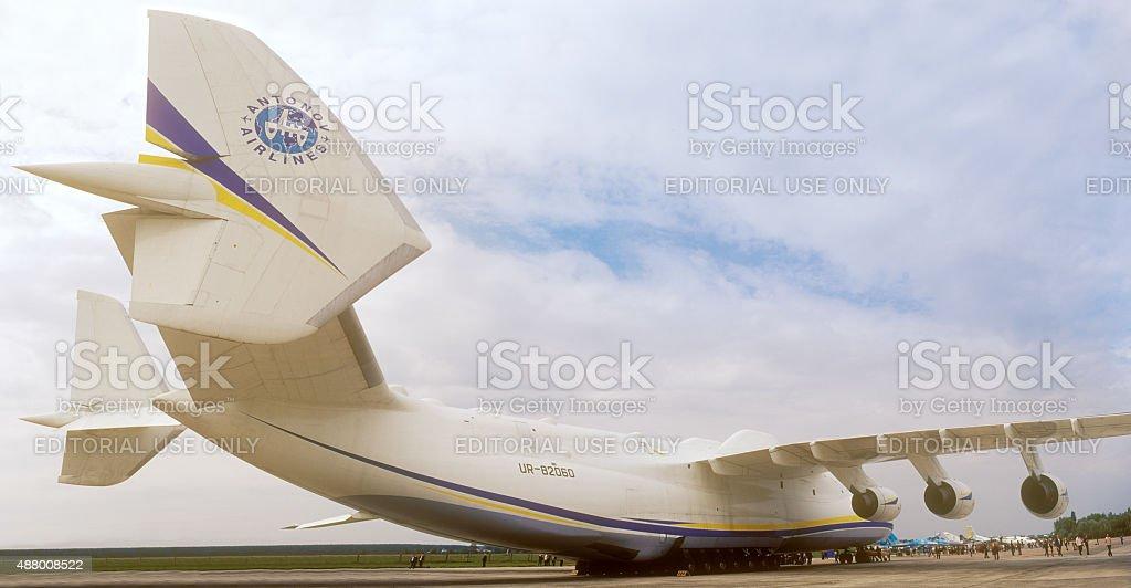 Antonov 225 'Mriya'. stock photo