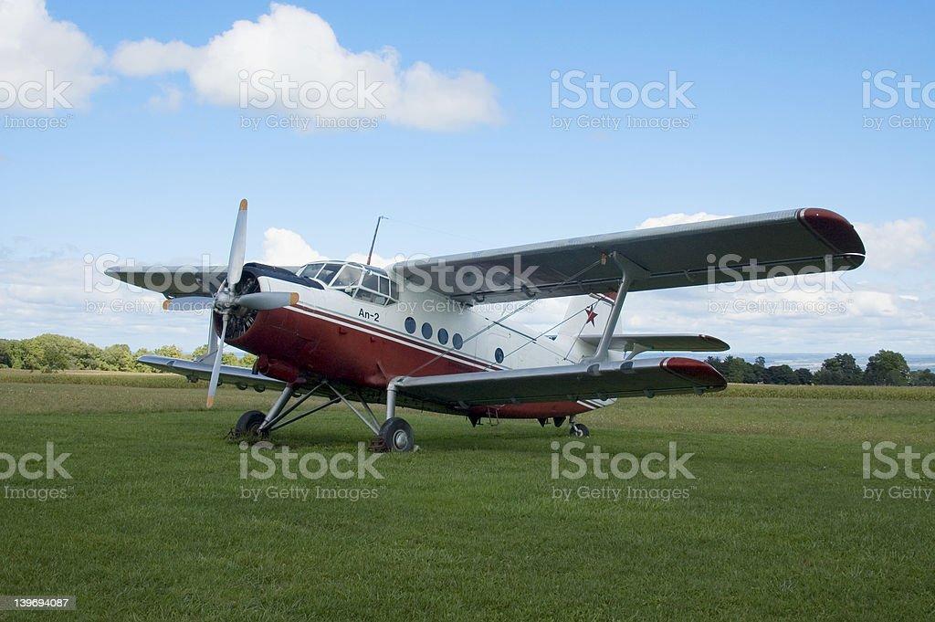 Antonov An-2 Colt stock photo