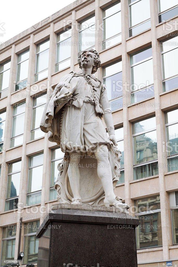 Antoon Van Dyck monument stock photo