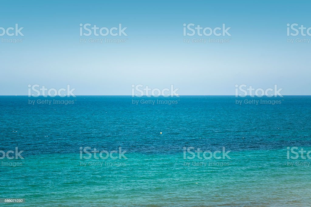 Ants Islands - La Manga del Mar Menor, Spain stock photo