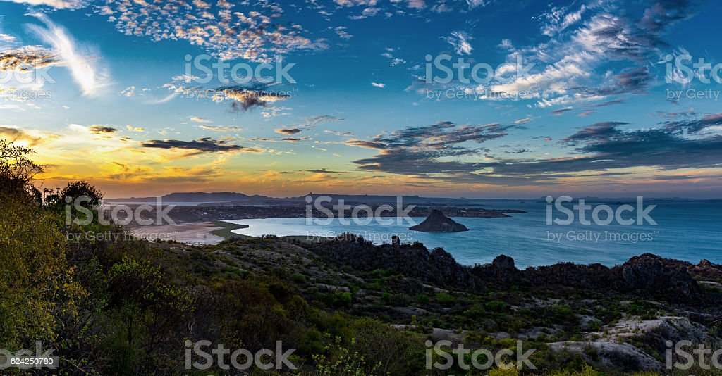 Antsiranana Bay, Madagascar stock photo