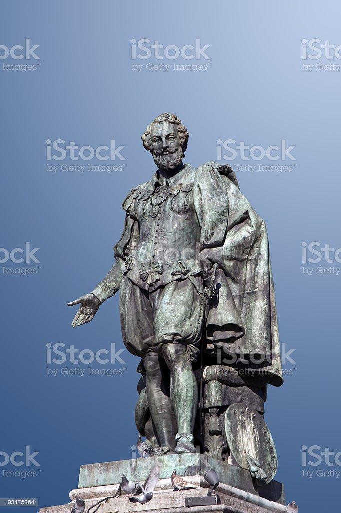 Antwerp – Statue of Peter Paul Rubens stock photo
