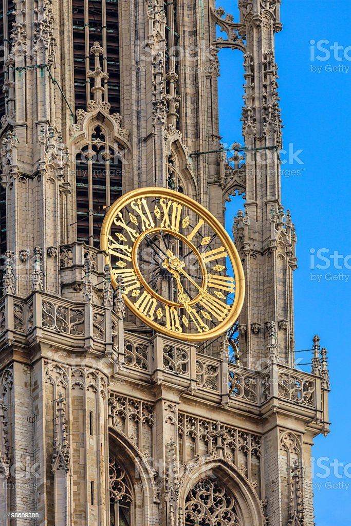 Antwerp, Cathedral of Our Lady - Belgium stock photo