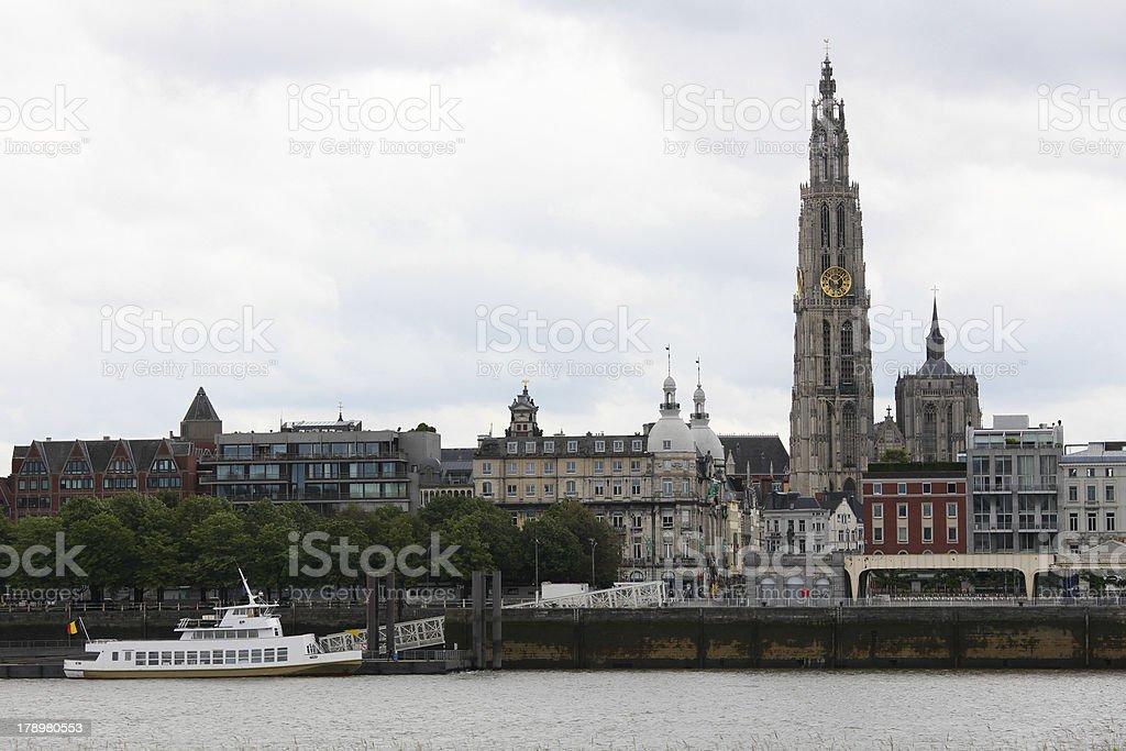 Antwerp royalty-free stock photo