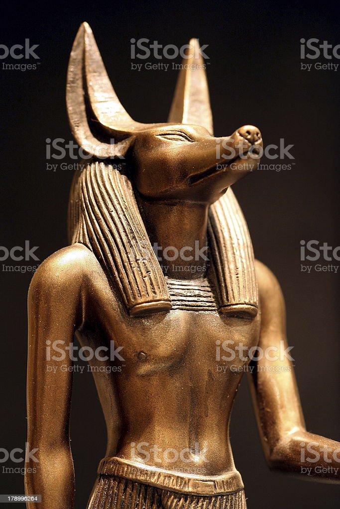 Anubis Statue stock photo