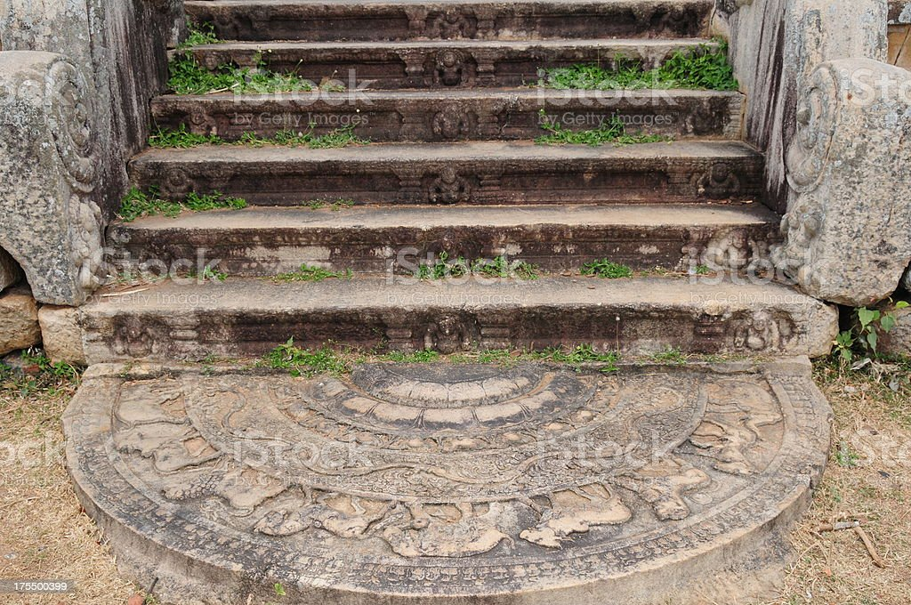 Anuradhapura,Sri Lanka. stock photo