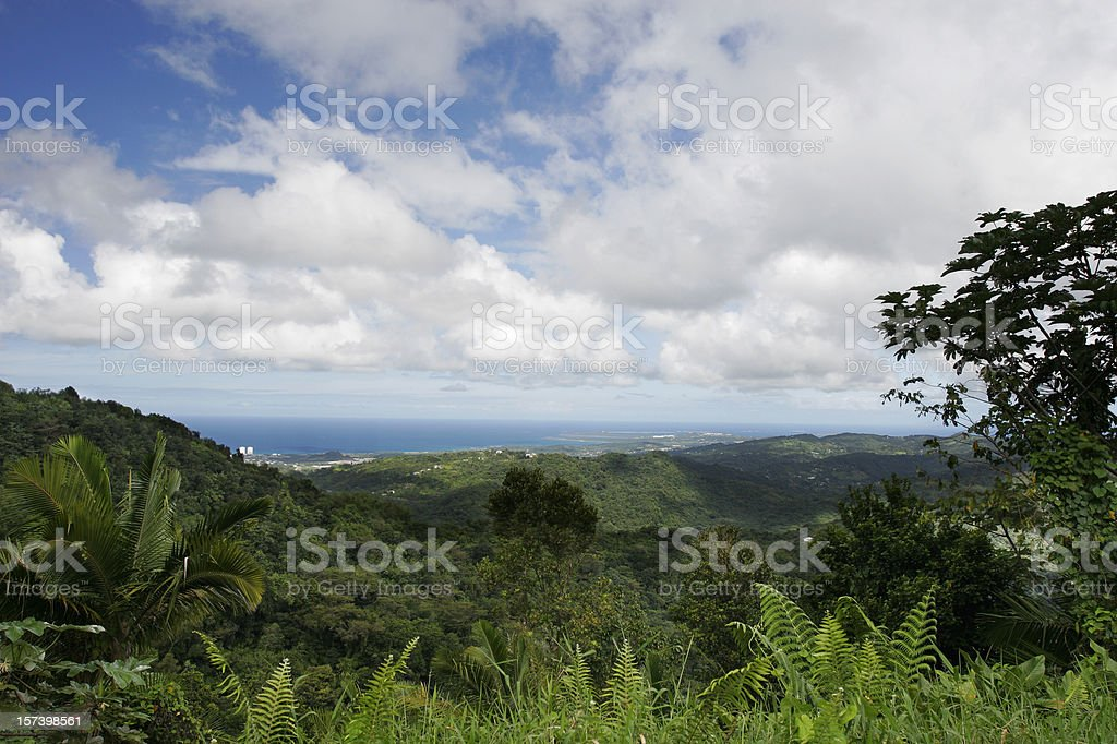 Yunque royalty-free stock photo