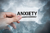 Anxiety / Business card cocnept (Click for more)