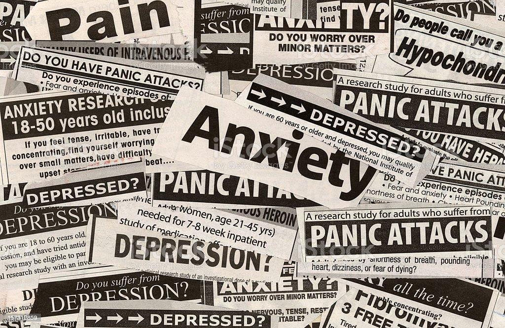 Anxiety? royalty-free stock photo