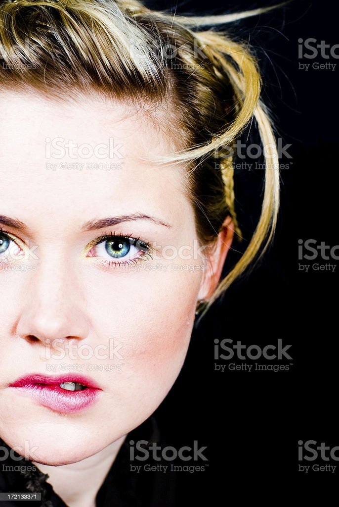 Anxiety royalty-free stock photo