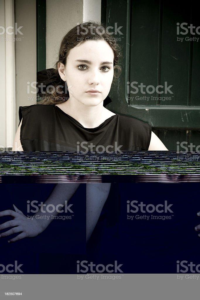 Anxiety. stock photo