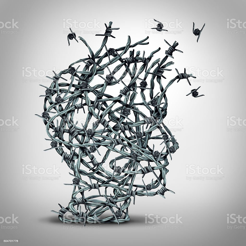 Anxiety Solution stock photo