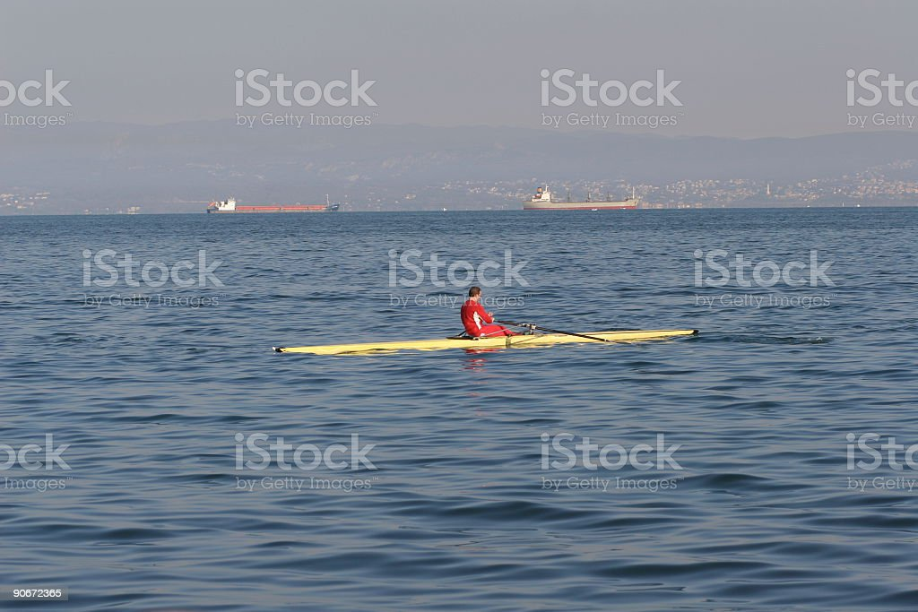 Any day on the sea royalty-free stock photo