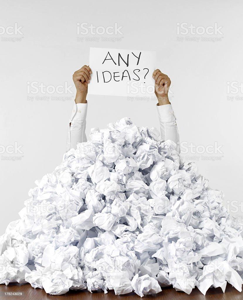 Any Ideas royalty-free stock photo